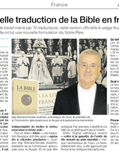 journal Ouest France du 10 novembre 2013